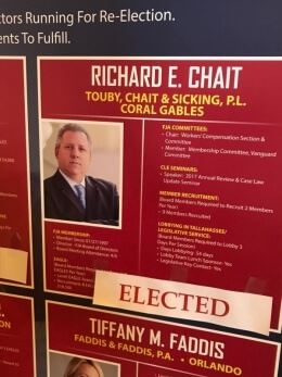 Richard Chait Elected